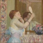 Woman with a Mirror, 1911